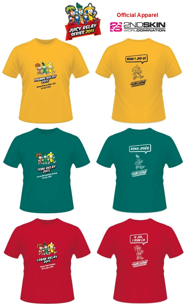Event T-Shirts - Juicy Relay Series 2015