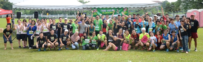 Tebu Relay group photo(small)